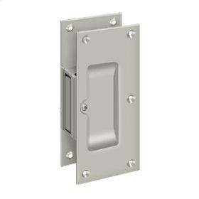 "Decorative pocket Lock 6"", Passage - Brushed Nickel"