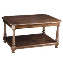 Davis Cocktail Table w/ Shelf