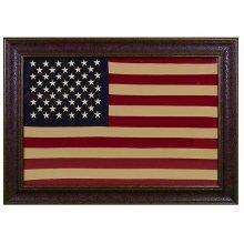 Large American Flag No Matt