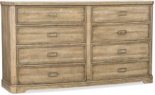 Urban Elevation Eight-Drawer Dresser