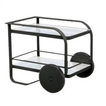 Quantum Serving Cart, Glass Top