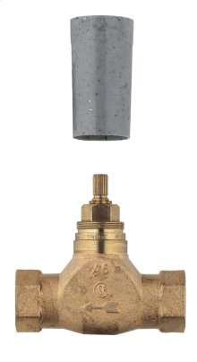 Concealed stop-valve, 1/2""