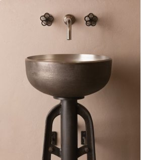 Ore Vessel Sink White Bronze