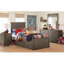 Bunkhouse Panel Bed, Twin 3/3