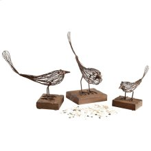 Medium Birdy Sculpture