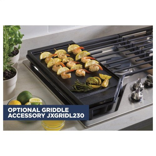"Optional 30"" Cast Iron Griddle"