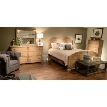Sherborne - King Woven Footboard - Toasted Pecan Finish