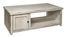 Calistoga White Coffee Table