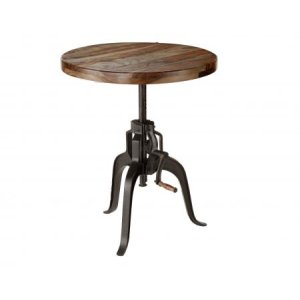 Steve Silver Co.Sparrow 30-inch Round Crank Table