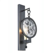 "Twilight Collection Wall Sconce W:6"" H:14"" E:4"" Lt:1 Bronze Finish"