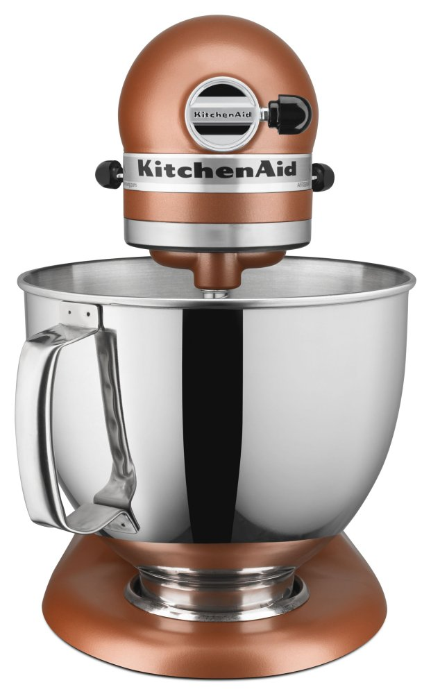 Hidden · Additional Artisan® Series 5 Quart Tilt Head Stand Mixer   Copper  Pearl