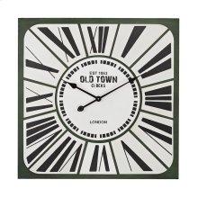 Stylized Roman numeral clock
