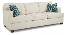 Pierce Fabric Three-Cushion Sofa