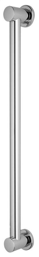 "Polished Chrome 24"" Decorative Grab Bar Product Image"