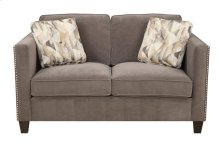 Focus - Loveseat Charcoal W/2 Accent Pillows