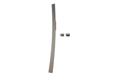 Luna Wall-Mounted Tub Filler w/Wall-Mounted Handles