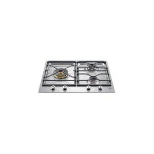 Bertazzoni24 Segmented cooktop 3-burner Stainless