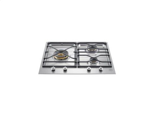 24 Segmented cooktop 3-burner Stainless