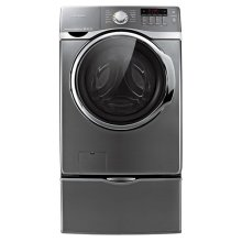 4.0 cu. ft. VRT, Steam and PowerFoam Front Load Washer (Stainless Platinum)