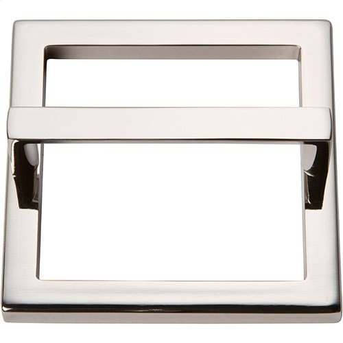 Tableau Square Base and Top 3 Inch - Polished Nickel