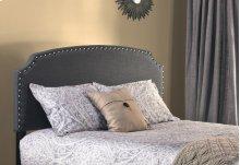 Lani Headboard With Frame - King - Dark Linen Gray