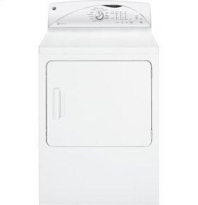 GE® 7.0 cu. ft. capacity Dura Drum electric dryer with HE SensorDry™