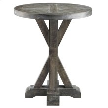 Bridgeport Round End Table