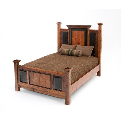 Red River Tombstone Bed - King Bed (complete)