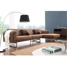 Divani Casa 0915 Modern Fabric Sectional Sofa