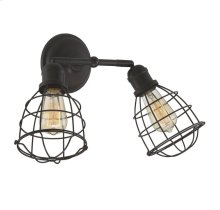 Scout 2 Light Adjustable Sconce