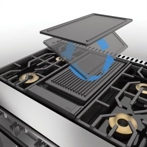 VikingReversible Griddle/Grill