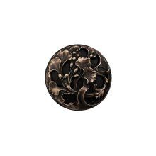 Florid Leaves - Antique Solid Bronze