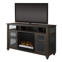 Xavier Media Console Electric Fireplace