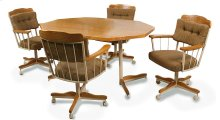 Table Base: Twin Legs (medium & sand)