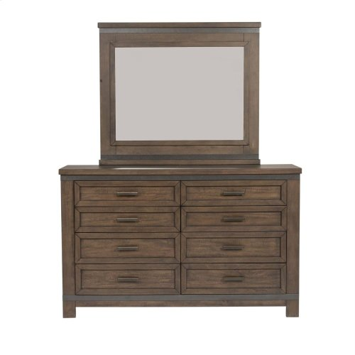 Queen Storage Bed, Dresser & Mirror, Chest