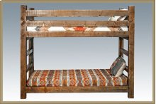 Homestead Twin Bunkbed - Stained and Lacquered