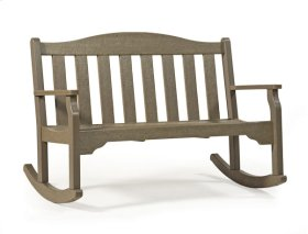 Ridgeline Rocking Bench