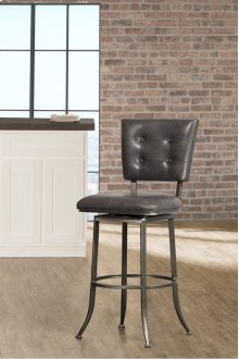 Caslan Commercial Grade Swivel Counter Stool