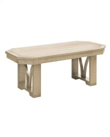 """T33 42"""" Rectangular Cocktail Table"""