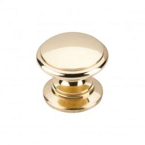 Ray Knob 1 1/4 Inch - Polished Brass