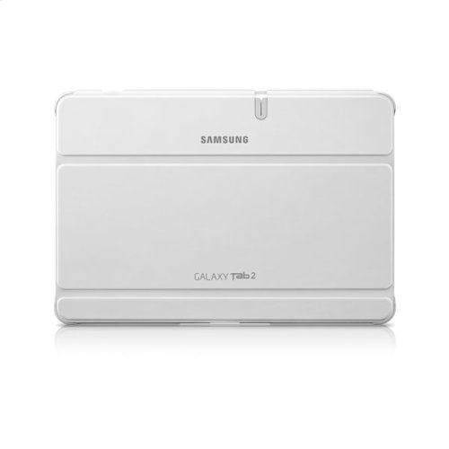 Galaxy Tab 2 10.1 Magnetic Book Cover, White