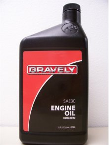 Oil, Gravely Sae 30w 32 Ounce