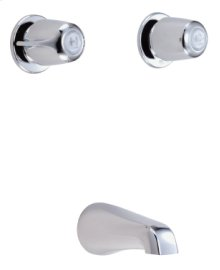 Chrome Gerber® Classics Two Handle Tub Filler Only