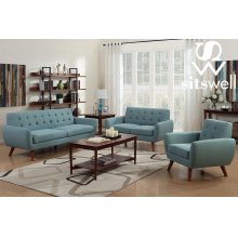 Daphne Teal Sofa, Love, Chair, SWU6918