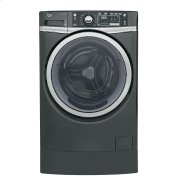 GE® 4.9 DOE cu. ft. Capacity RightHeight™ Front Load ENERGY STAR® Washer with Steam Product Image