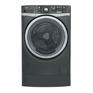 GEGE(R) 4.9 DOE cu. ft. Capacity RightHeight(TM) Front Load ENERGY STAR(R) Washer with Steam