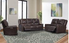Sofa Dual Pwr Recliner W/usb & Pwr Headrest