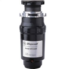 GE® 1/3 Horsepower Continuous Feed Disposer