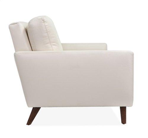 Aventura Two Arm Sofa - Cream Leather