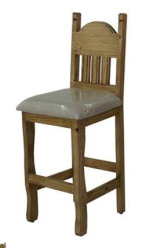 "24"" Barstool W/Cushion Seat"